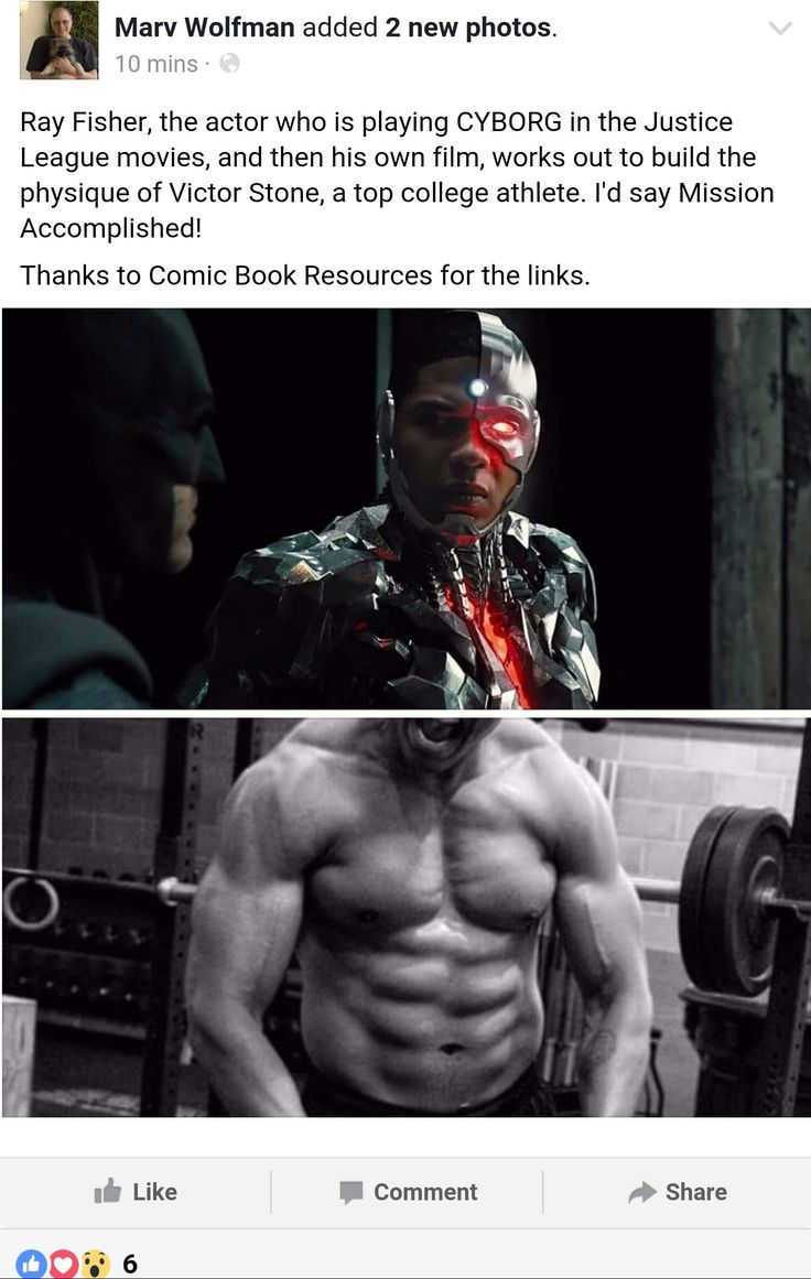 Cyborg creator Marv Wolfman is extremely pleased with Ray Fisher's dedication and commitment to the role http://ift.tt/2cOT83d