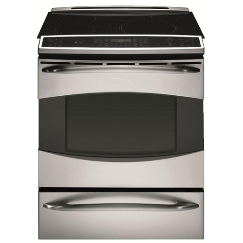 Slide in induction range by ge appliances ge stove appliance
