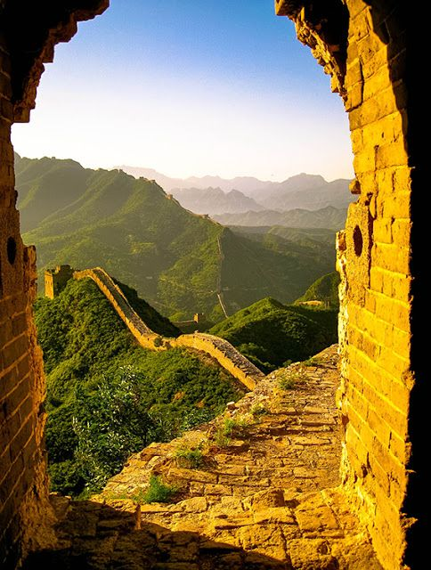 Great Wall , by Alain Lagulao, in China - Around the World