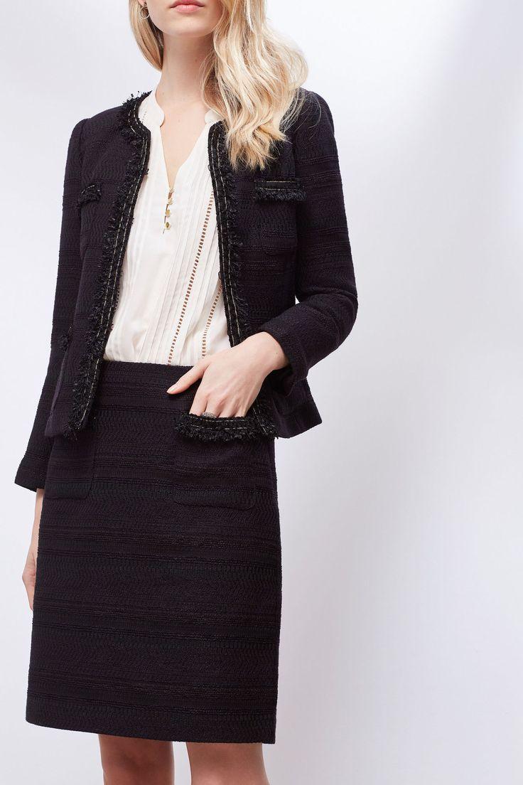 Falda tweed | Faldas | Cortefiel