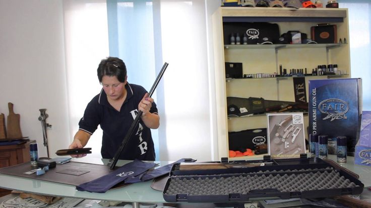 Smontaggio fucile parallelo   Side-by-side shotgun dismantling