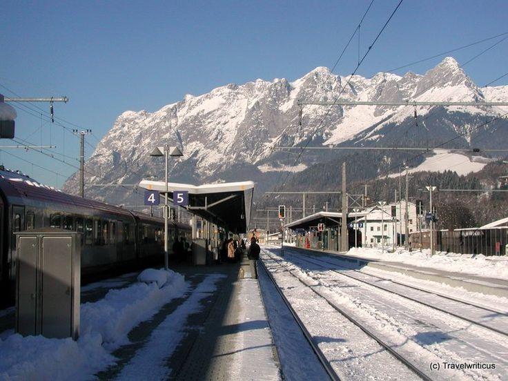 View from Schafberg Railway, Austria | Railway station Bischofshofen, Austria :: Travel by Photography