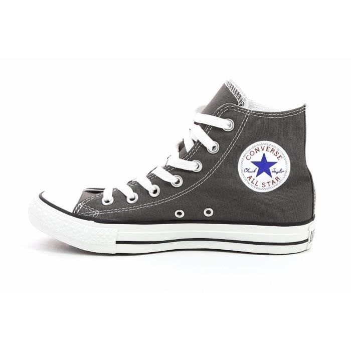 CONVERSE Baskets Montantes All Star Chaussures Mixte - Gris ...