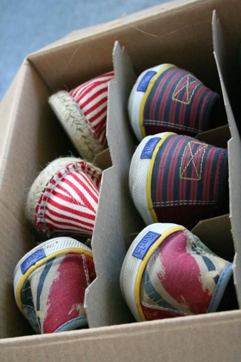 Keep your shoes organized somewhere else, like in a wine box under the bed http://justimagine-ddoc.com/crafts/25-lifehacks-organize-your-tiny-closet/gallery/image/12-shoes-organized/