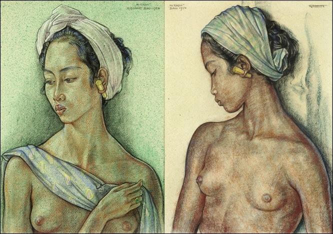 Ni Radji by Rudolf Bonnet, Bali, 1954