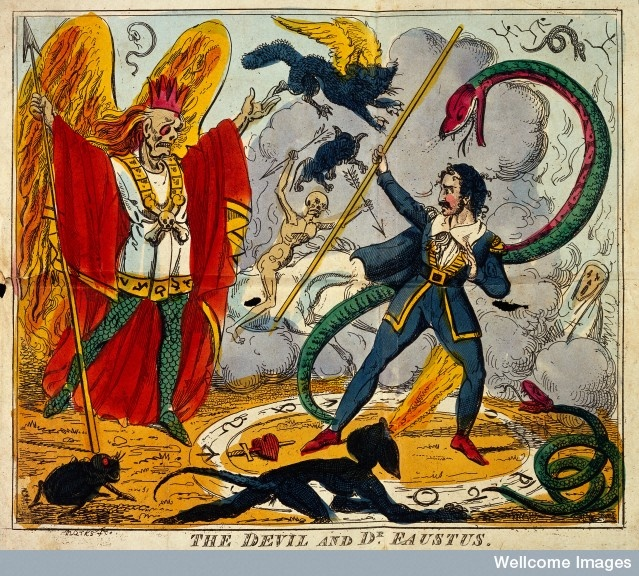 the devil in dr faustus essay Searching for professionally written essay on faust for  will surrender his soul and body to the devil dr faustus confirms the pact with the devil by.