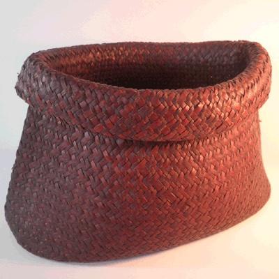Flax Kete (Basket)