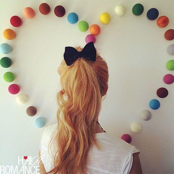 164 Best Ponytail Romance Images On Pinterest Hair Dos