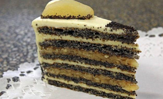 Almás máktorta - Magyarország tortája 2012   Femcafe
