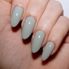 Essie Bridal 2017 'Sage You Love Me'. Sage green nails. Wedding nail inspiration…