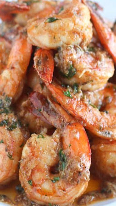 Cajun Herb Buttery Shrimp
