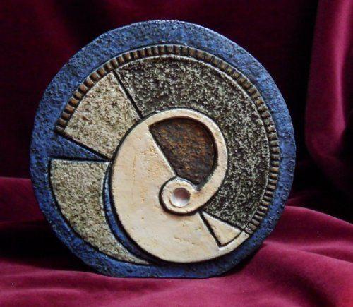 Rams Design Troika Vase, Cornwall Pottery,.,