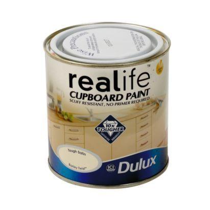 Dulux Cupboard Paint Jasmine White 600ml, 5010212505533 £20.98