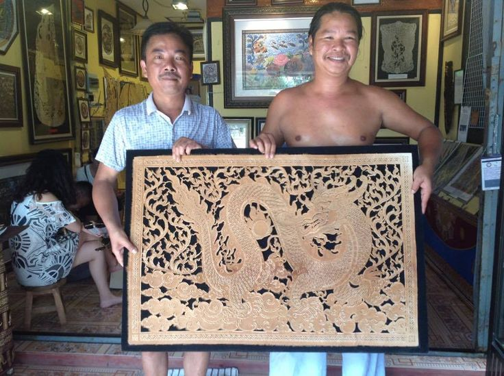 """This happy client from China!🇨🇳 Yesterday he bought """"BIG DRAGON"""" from My Gallery🙏 My Gallery location near Plai Laem temple! Come to see us in Koh Samui🌴  #thailand #samui #samuicarvings #samui_carvings #art #buffalo_skin_carvings #buffalo_skin #kohsamuiisland #kohsamuithailand #kohsamui #samuiholiday #самуи #таиланд #тай #samuilife #samui2017 #samuigallery #master_samui #kohsamui #samuiisland #handmade #handwork #handcraft #handicraft #kohsamuiisland #thailand2017 #hardwork #buffalo…"""