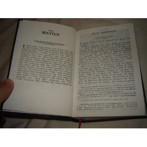 Greek - Indonesian Bilingual Study New Testament / Yunani - Indonesian Perjanjian Baru  $89.99