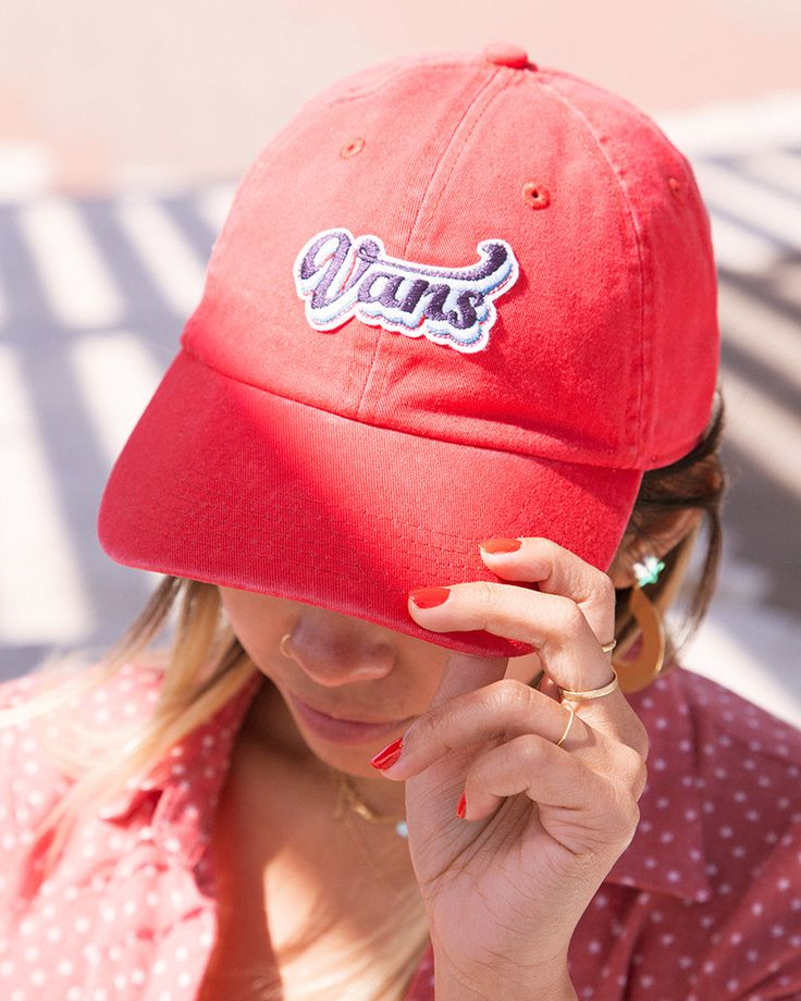 Be bold in the Court Side Baseball Cap.  Photo: Johnny De Guzman