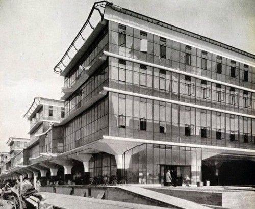 Boots Factory, Nottingham. Owen Williams, 1930-38.