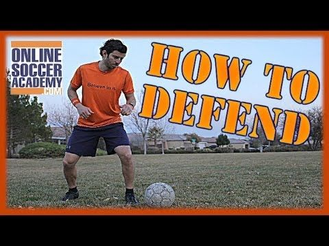 How to Defend against Fast Attackers - Online Soccer Academy - YouTube