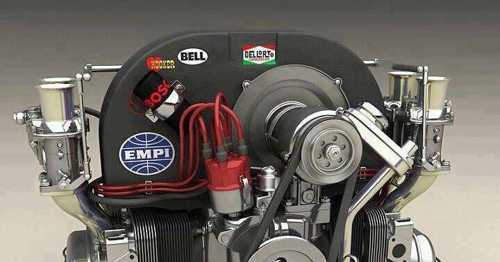 Volkswagen Escarabajo (Vochos): Motores Doble Carburador