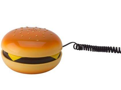 Telefon Hamburgerl #homegadgets #design #present #time ♥ www.pt-store.pl