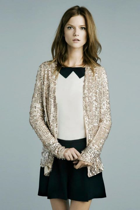 Ever outfit needs a dash of sparkle. Or maybe a whole cup.