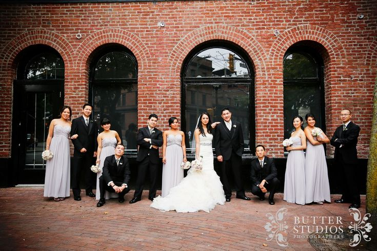 Cindy + Gary  Vancouver Wedding | Gastown