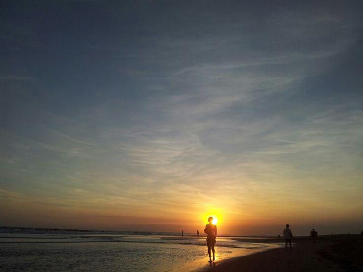 Sunset in seminyak #sunsetbali #beautifulbali