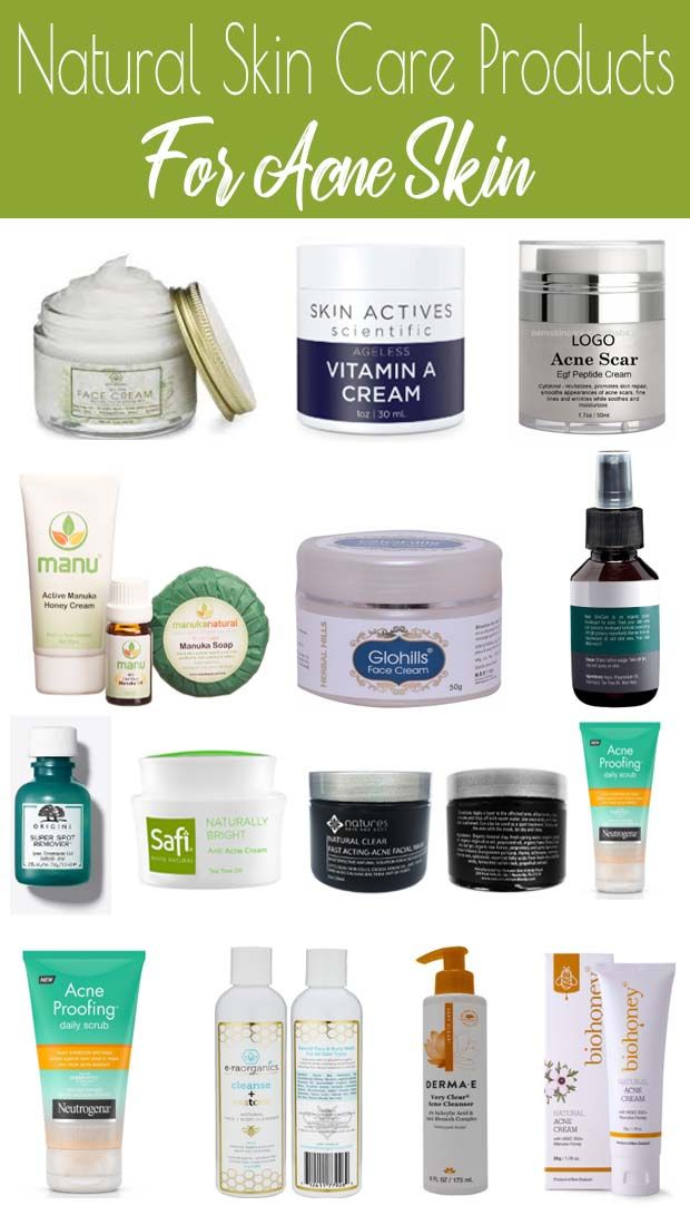 Best Organic Skin Care Products For Acne In 2020 Natural Face