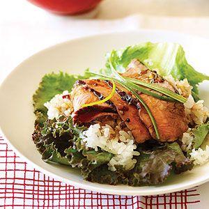 Korean Beef Wraps | MyRecipes.com