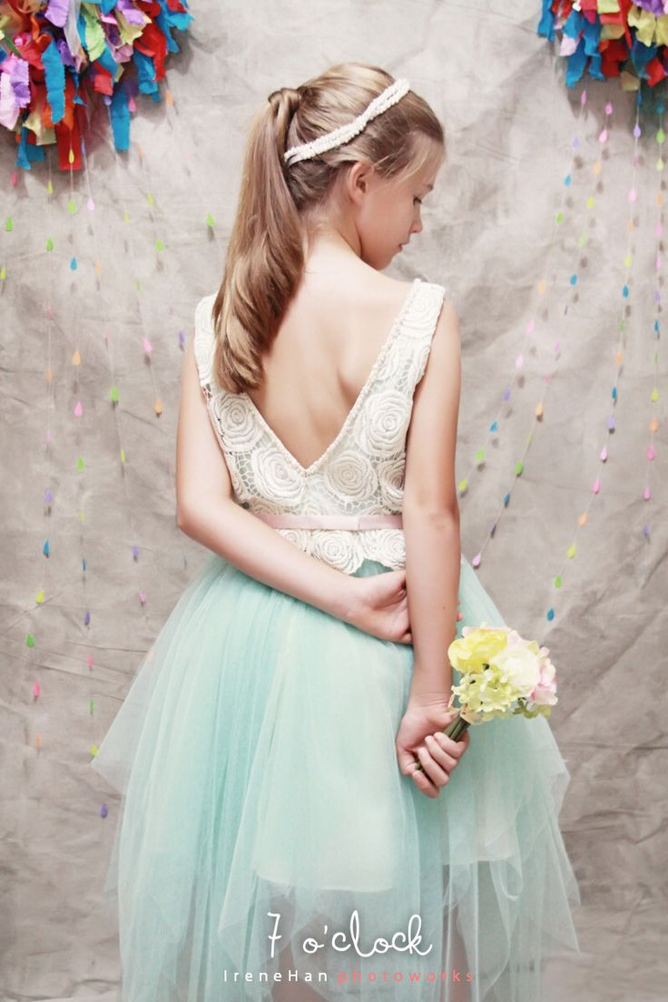 Loulle Dress | 7 o'clock couture by Agit for teens