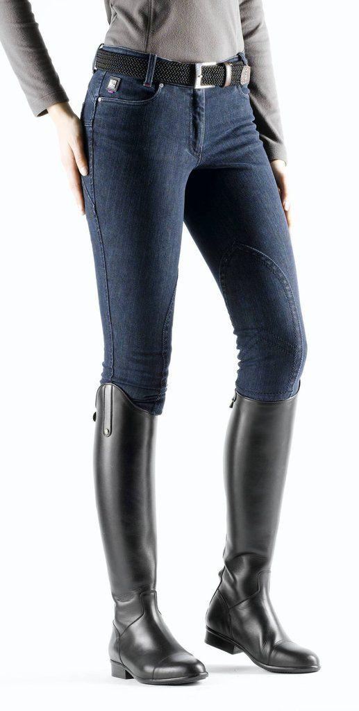Equiline Janel Denim Womens Breeches