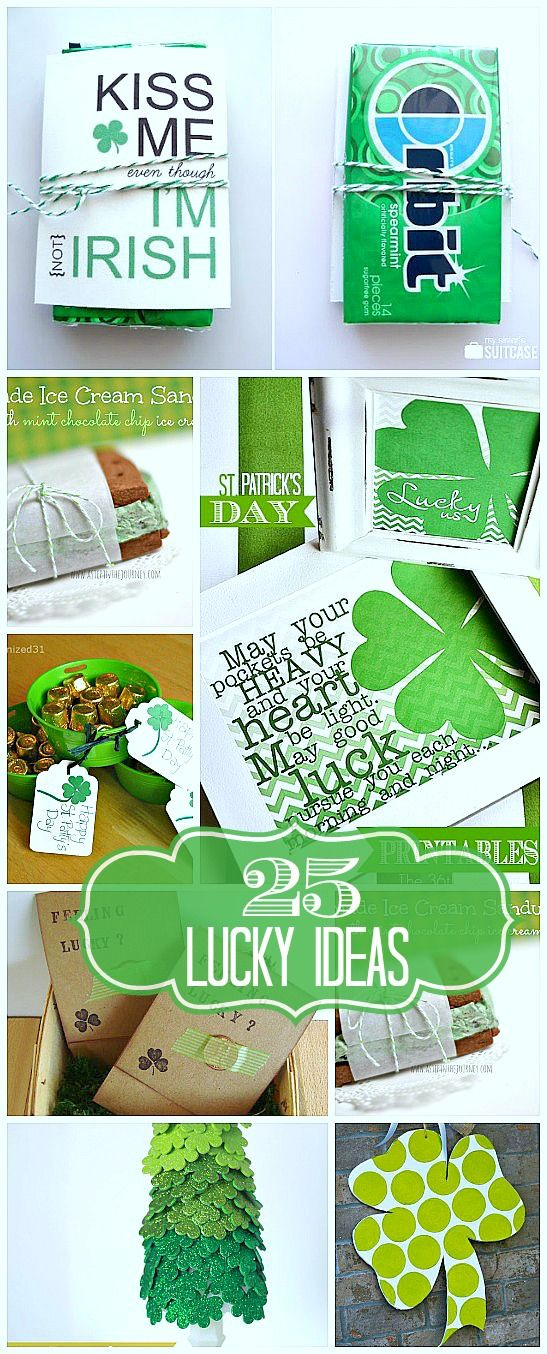 25 LUCKY St. Patrick Ideas