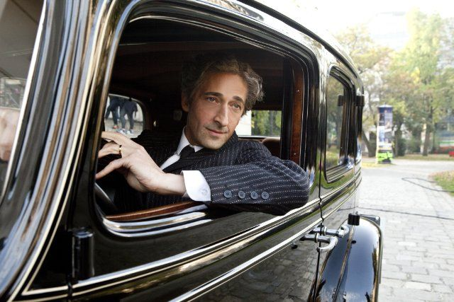 """Adrien Brody as Harry Houdini in the History Channel's 2-part mini series, """"Houdini"""""""
