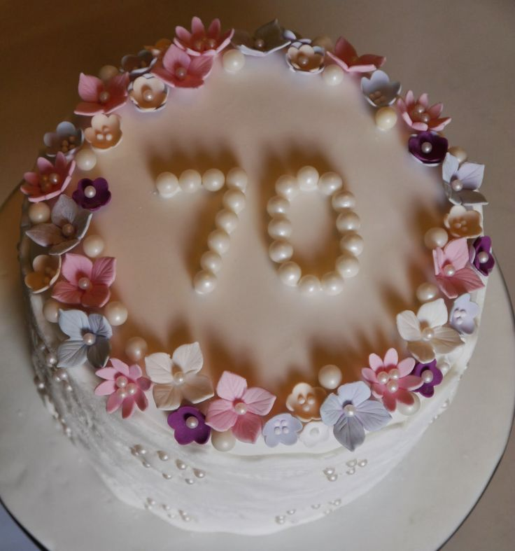 Birthday Cakes With Pearls Google Search Images And Ideas