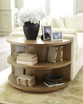 Driftwood End Table by Ralph Lauren Home. // pretty neat idea