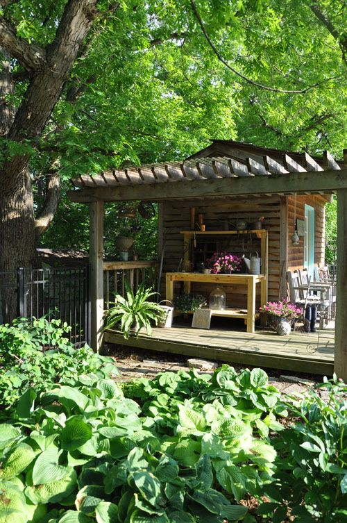 How we converted an old shed to this wish someone would for Convert pool to garden