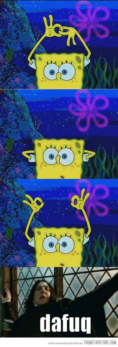 funny spongebob | funny SpongeBob magic trick - From 23 Funny Spongebob pics, photos and memes. - SillyCool