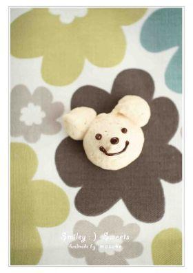 「くまくんのココナッツメレンゲクッキー」masuko | お菓子・パンのレシピや作り方【corecle*コレクル】