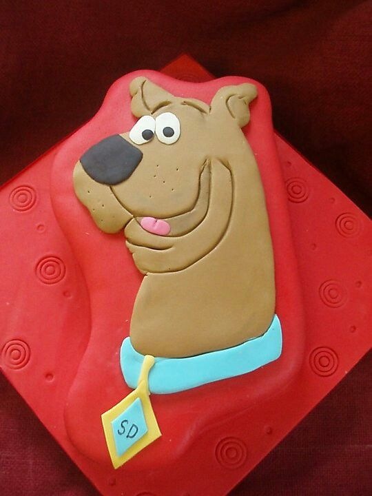 62 best scooby doo cakes images on pinterest birthdays for Scooby doo cake template