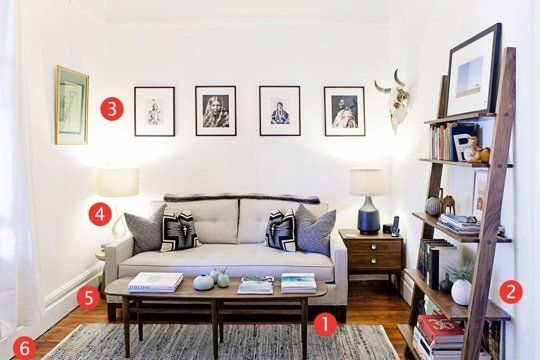 Why Jesses Living Room Works: 6 Ideas to Steal for Your Small Space - Apartment Therapy Main