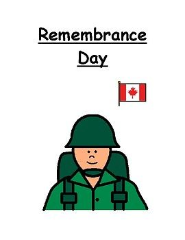 I use this story with my kindergarten class to help them to understand what war is, what peace is, and why we recognize Remembrance Day in Canada.