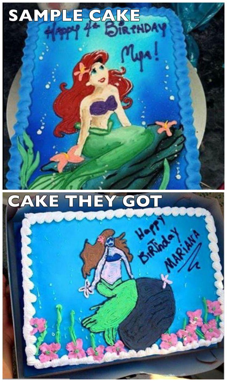 19 gâteaux d'anniversaire qui sont des catastrophes absolues