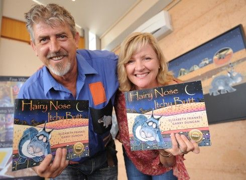 Elizabeth Frankel & Garry Duncan - co-creators, and both from the Riverland!