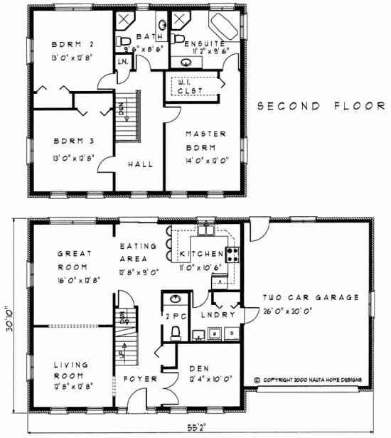 Best 25 two storey house plans ideas on pinterest house for Floor plan of a two storey house