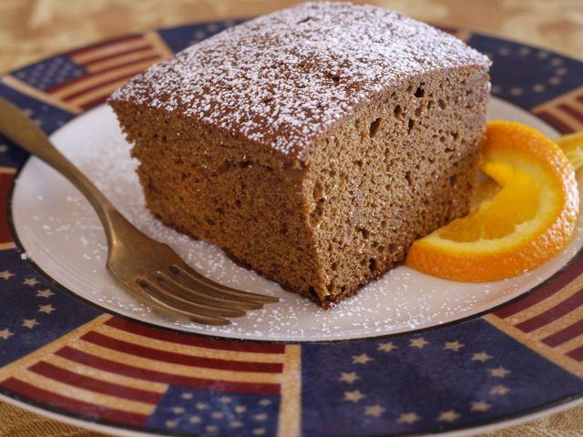 Happy President's Day!  Celebrate with George Washington's favorite cake :)