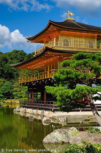 Golden Pavilion, Kyoto, Kansai, Honshu, Japan