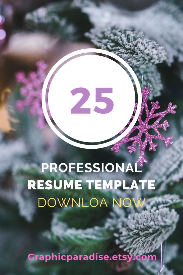 Resume Template Instant Download Professional Resume Template Resume Template Word Modern Resume Template Resume Writing Cv Template Happy New Year Images Happy New Year Cards New Year Images