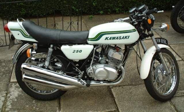 Kawasaki 250cc 1972