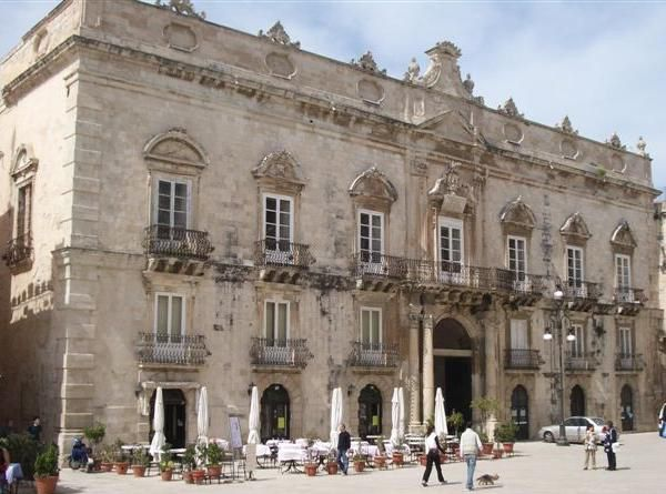 """Noto (Sicily - Italy). Known as the """"capital of Baroque"""", in 2002 its historic center was declared World Heritage by UNESCO."""