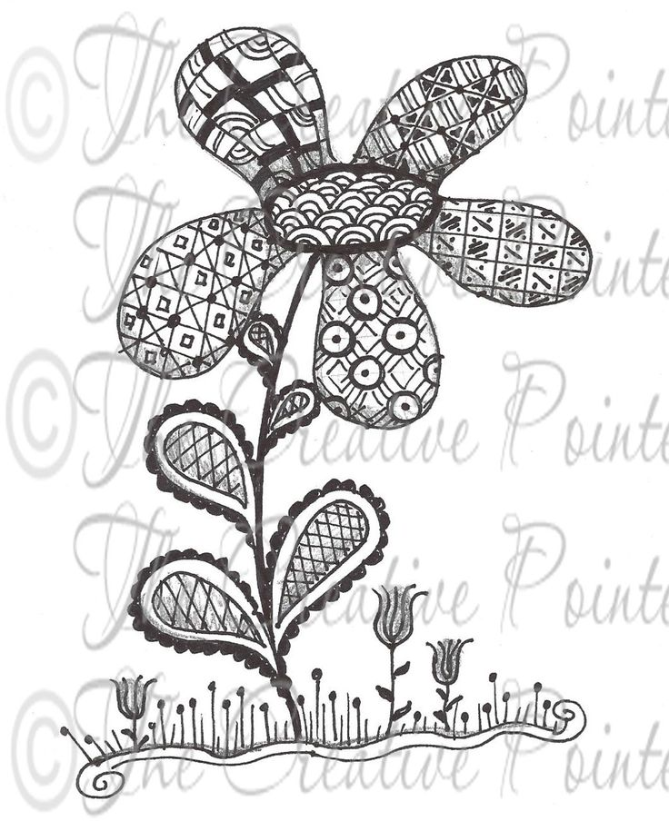 Zentangle Patterns For Beginners   Have you tried Zentangle? According to their website , Zentangle is: